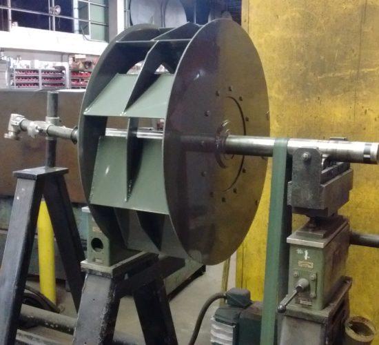 Industrial Fan Balancing, Fan Dynamic Balancing