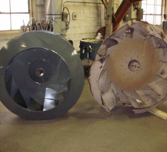 industrial fan repair